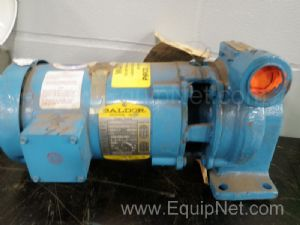 Centrifugal Pump with Baldor 3/4 Hp Electric Motor