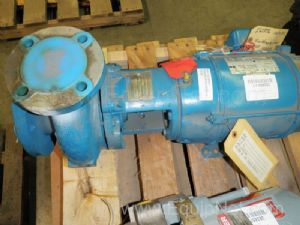 Centrifugal Pump with Emerson 7.5 Hp Electric Motor