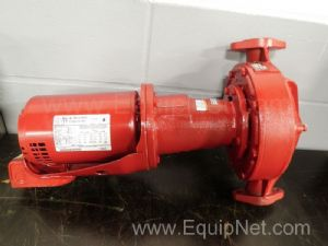 Bell & Gosset Centrifugal Pump 1 1/2 Inch Inlet and Outlet
