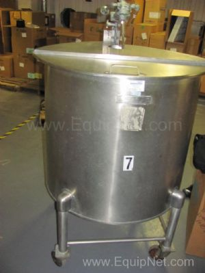 United Utensil Co Stainless Steel Gallon Portable Tank with Mixer