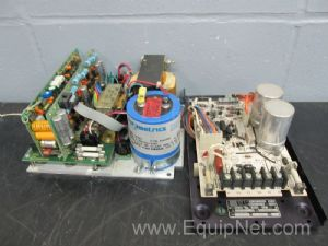 Lot of 2 Assorted Motor Control Panels