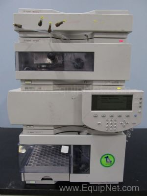 Lot of Hewlett Packard/Agilent 1100 Series HPLC Components