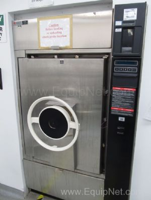 Amsco R3053-1 Pass Through Autoclave with Trolley