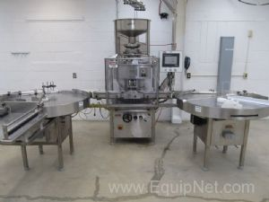 GMP Genisis Machinery Products RW18RH Rotory Capper With RU48 Rotary Tables
