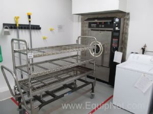 Amsco Stage 2 Pass Through Autoclave with Trolley