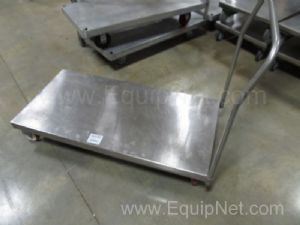 1 Jamco Stainless Steel cart 48x24x9 Deck