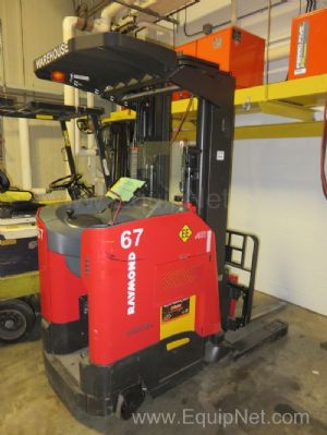 Raymond Electric Forklift Model 750DR32TT 3200 lb Capacity with 36 Volt Charger
