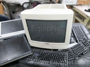 Lot of assorted Monitors and Keyboards