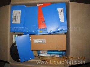 Box of Unused Murata Chip Inductors AVX Kyocera Sample Kits and Other Assorted Components