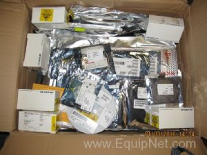 Box of Unused Maxim Fairfield Semiconductor and Other Miscellaneous Electrical Components