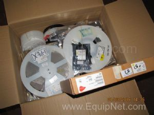 Box of Unused Ipex Acera and Other Assorted Electrical Components