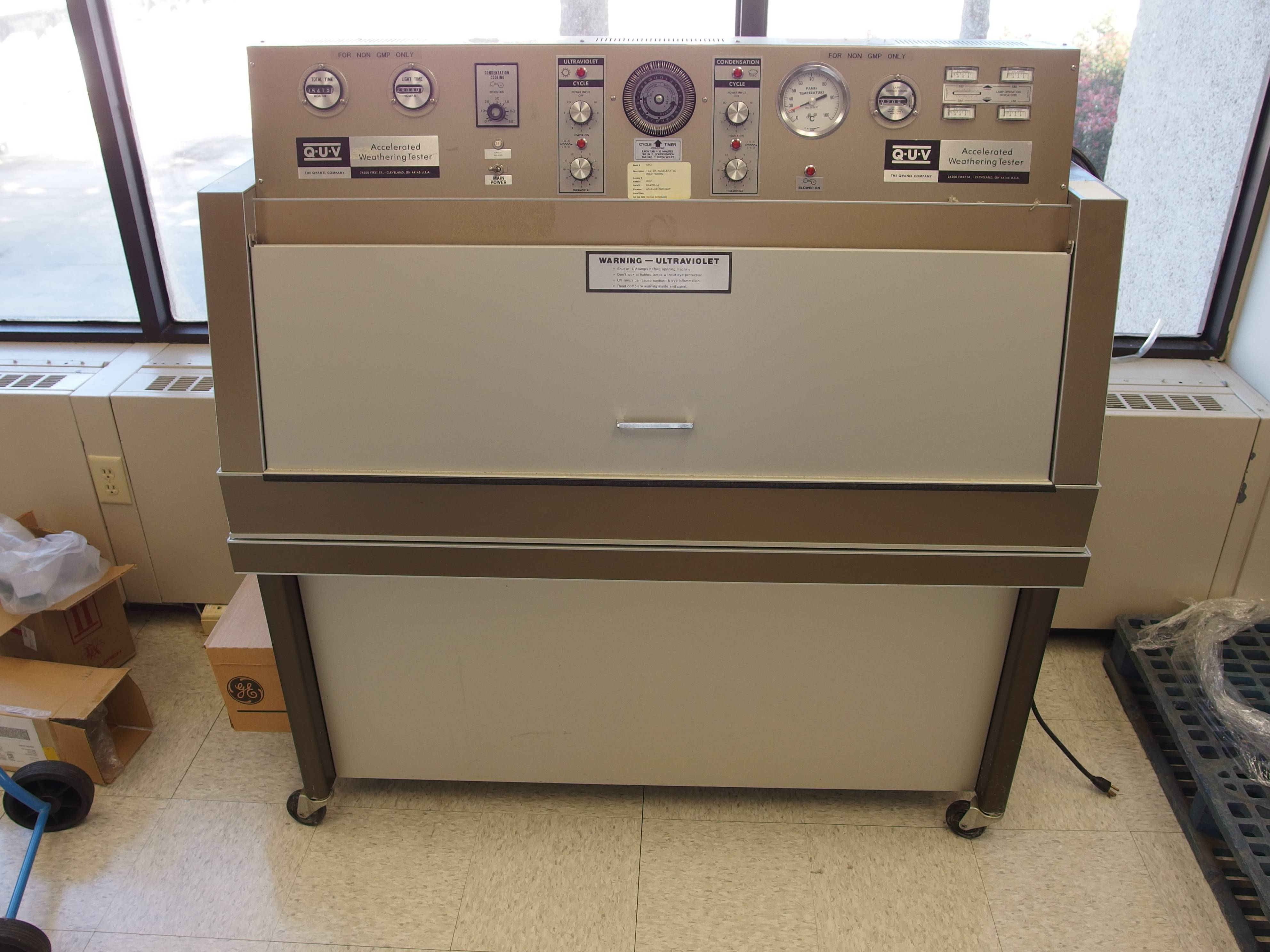 Image of Q-Panel-QUV-Accelerated-Weather-Tester by EquipNet, Inc.