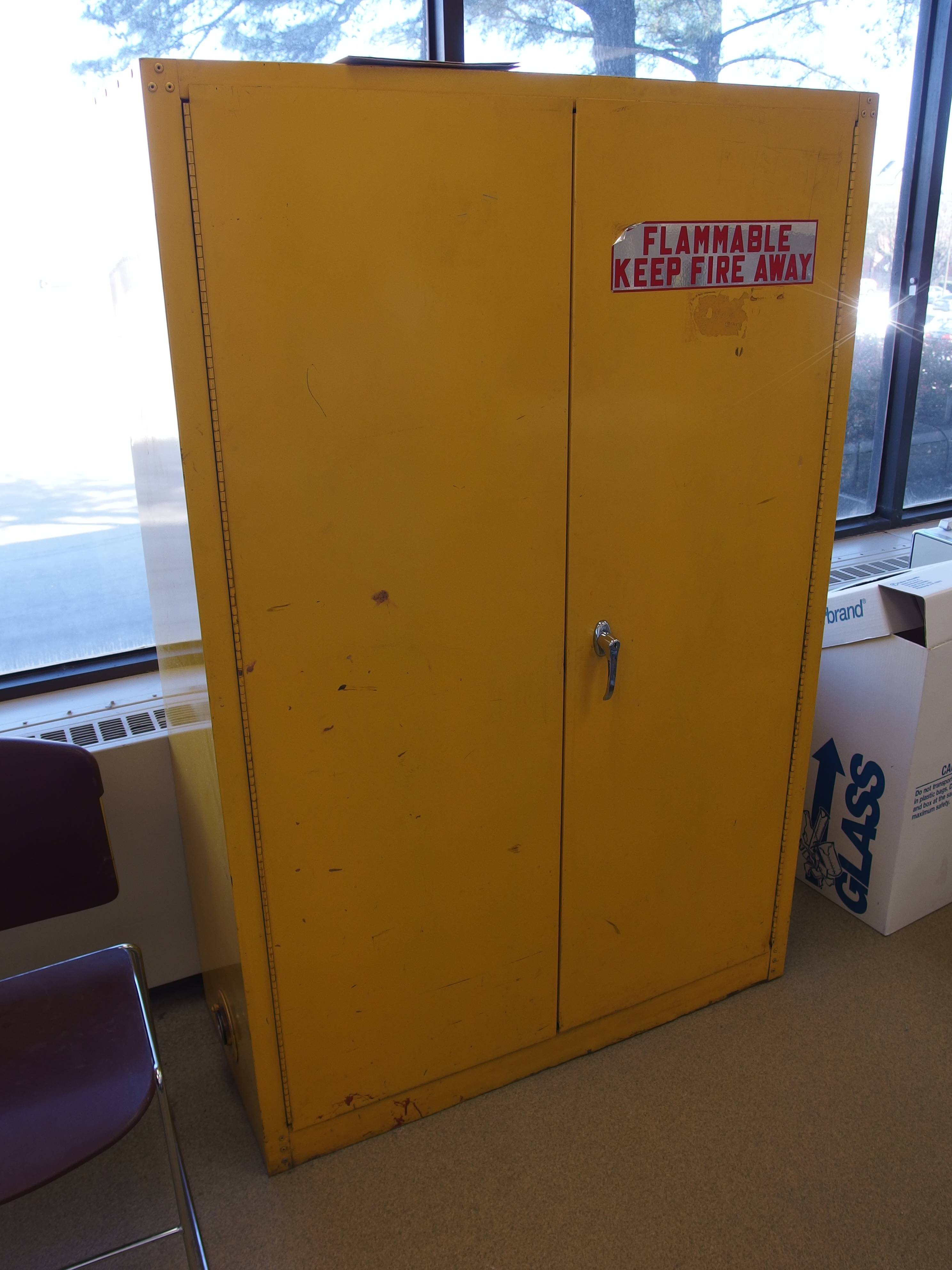 Used Flammable Storage Cabinet By Equipnet Inc Used