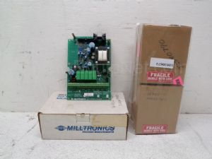 Lot of 4 Millitronics and Moore Motherboards and Returned/Input PC Boards