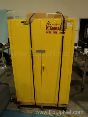 Justrite Model 25452 Flammable Storage Cabinet
