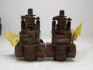 Lot of 2 Duriron model CTS 5147A Valves