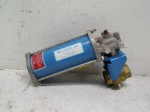 Neles Jamesbury model ST13MS Spring return Valve Actuator with 2-inch Ball Valve