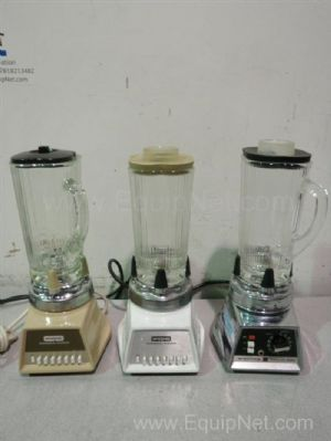Lot of 3 Waring Commercial Blenders
