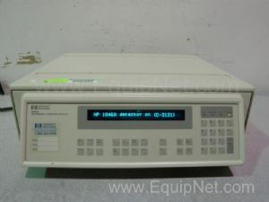HP 1046A Programmable Fluorescence Detector