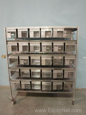 Stainless Steel Autowatering Rodent Cages
