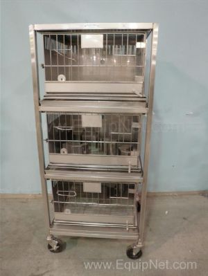 Fenco Cage Products Stainless Steel Rabbit Cages