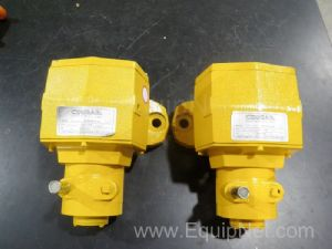 Lot of 2 Cougar Industries, Inc. AA4-3300 Filling Vibrator Pumps