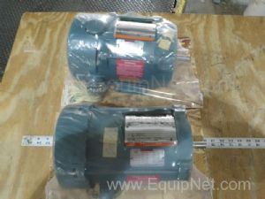 Lot of 2 Reliance P56H2301M Electric Motors