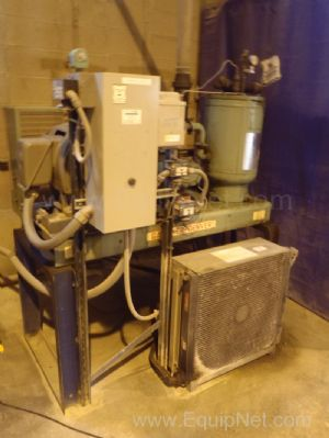 Gardner Denver BESEB 125 psi Air Compressor with Tank and Dryer