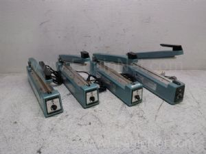 Lot of 4 American International Electric AIE-300 Impulse Sealers