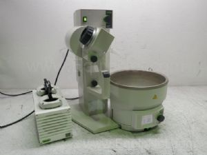 Buchi R-210 Rotavapor with Buchi B-495 Heating Water Bath and Buchi V-500 Vacuum Pump