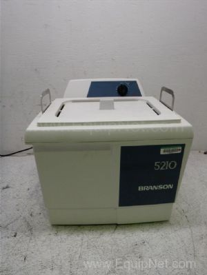 Branson 5210F-MT Ultrasonic Cleaning Water Bath