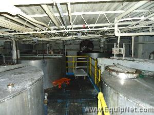 Stainless Steel Mixing Tanks – 5,000 – 11,000 Gallons