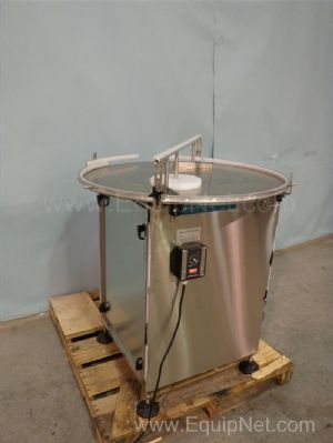 Inline Filling System Variable Speed Turntable