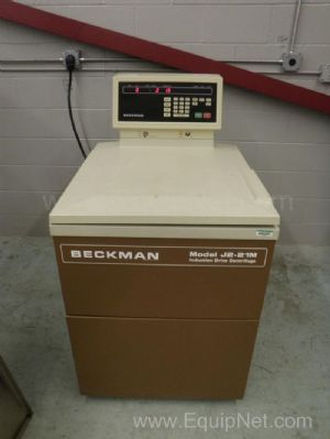 Beckman J2-21M Induction Drive Centerfuge