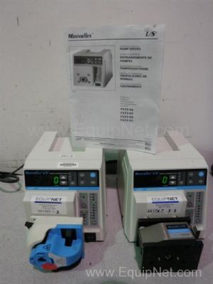 Lot of 2 Masterflex 7523-60 Peristaltic Pumps