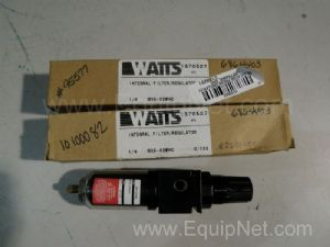 Lot of 3 Watts 835-02WHC Integral Filter-Regulator