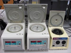 Lot of 3 Assorted Laboratory Centrifuges