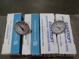 Lot of 6 Ashcroft Thermometers