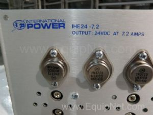 Lot of 3 International Power 1HE24-7.2 Power Supplies