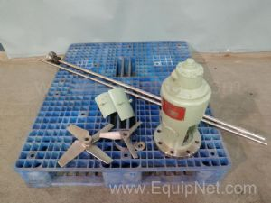 Lot of Miscellaneous Tank Agitator Parts