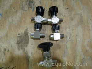 Lot of 5 Whitey Needle Valves