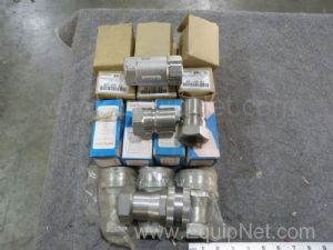 Lot of 25 Assorted Couplings