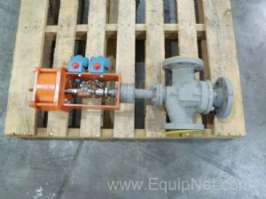 Bettis 504917 Bellows Ball Valve