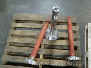 Lot of 3 Flanged Shafts