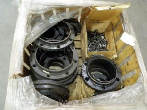 Lot of Approximately 20 Us Castings Assorted Flanges