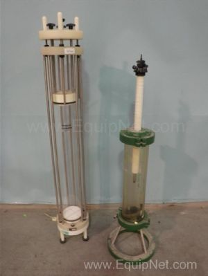 Lot of 2 Amicon Chromatography Columns