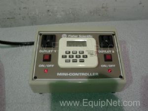 Fisher Scientific Mini-Cotroller Dual Outlet Traceable Power Controller
