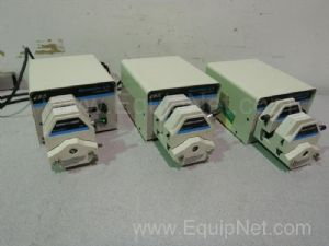Lot of 3 Cole-Parmer Masterflex Peristaltic Pump Systems