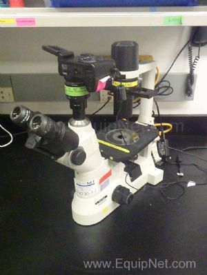 Nikon Eclipse TS 100 Microscope with 10, 20 and 40x Objectives and Nikon Cool Pix Camera
