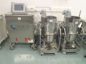 2 Hyclone 50L Bioreactors with Applikon Control Panel